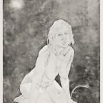 o.T., Strichätzung, Aquatinta, auf Zink, auf Büttenpapier, 123x170cm, 2016