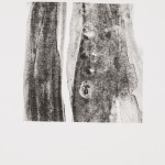 "aus der Serie ""lumen"" VII/IV, Lithographie auf Büttenpapier, Unikat, 14x20 cm, 2018"