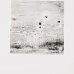 """aus der Serie """"lumen"""" VII/IX, Lithographie auf Büttenpapier, Unikat, 14x20 cm, 2018"""