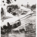 """aus der Serie """"lux"""" I/IV, Lithographie auf Büttenpapier, Unikat, 17x22,7 cm, 2018"""