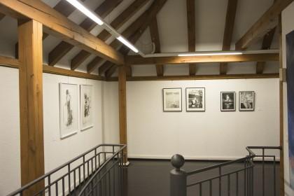 """Ausstellungsansicht """"Das Bild der Frau - Das ewig Weibliche"""",Galerie Altes Rathaus, Kunstverein Wörth, Wörth am Rhein, 2018"""