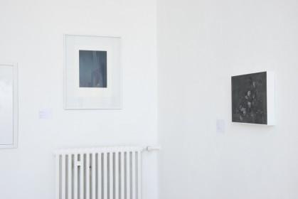 Ausstellungsansicht EY-Benefizversteigerung, im Rahmen der Nacht der Museen, Kunstakademie Düsseldorf, 2018