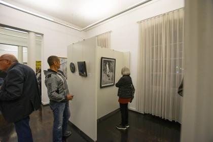 """Ausstellungsansicht """"Heinrich von Zügel - Kunstpreis"""",Galerie Altes Rathaus, Kunstverein Wörth, Wörth am Rhein, 2018"""