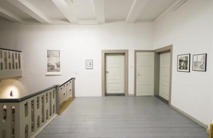 """Ausstellungsansicht """"Platzierte"""" - Ausstellung der Nominierten, Künstlerhaus, Meinersen, 2018"""