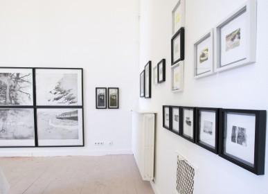 Ausstellungsansicht der Abschlusspräsentation, Kunstakademie Düsseldorf, 2019